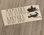 Rae Dunn Inspired Birdhouse Decals Mama BAby