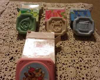 Avon 4 miniature Christmas Soaps