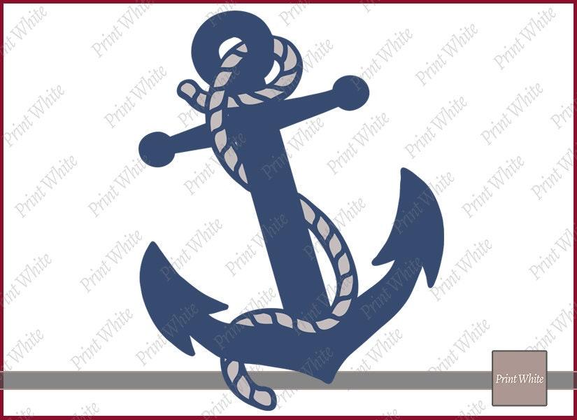 photo regarding Printable Anchor Stencil named Anchor with Rope Svg, Anchor Slash Record for Stencil, Nautical Anchor with Rope Svg, Colourful Anchor Svg, Cricut Reducing Document, Printable Anchor