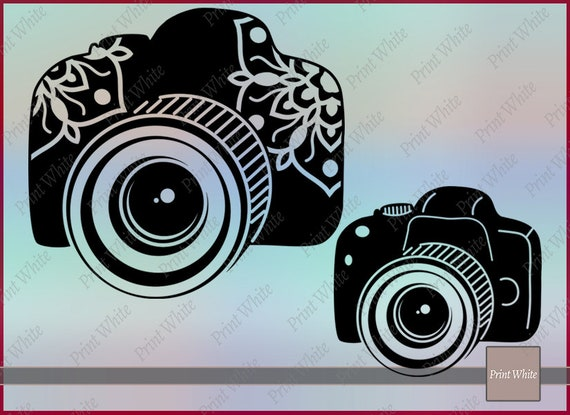 Camera Clip Art Illustration Camera Png Mandala Camera Floral Camera Photo Camera Svg Vector Camera Svg Mandala Svg Camera Clipart