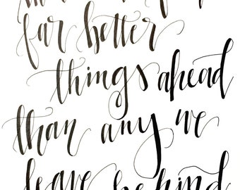 c.s. lewis hand-lettered print