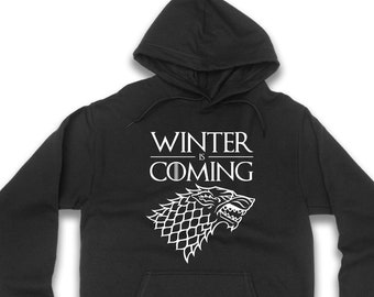 Winter is coming Hoodie Unisex Adults d3f026cdf
