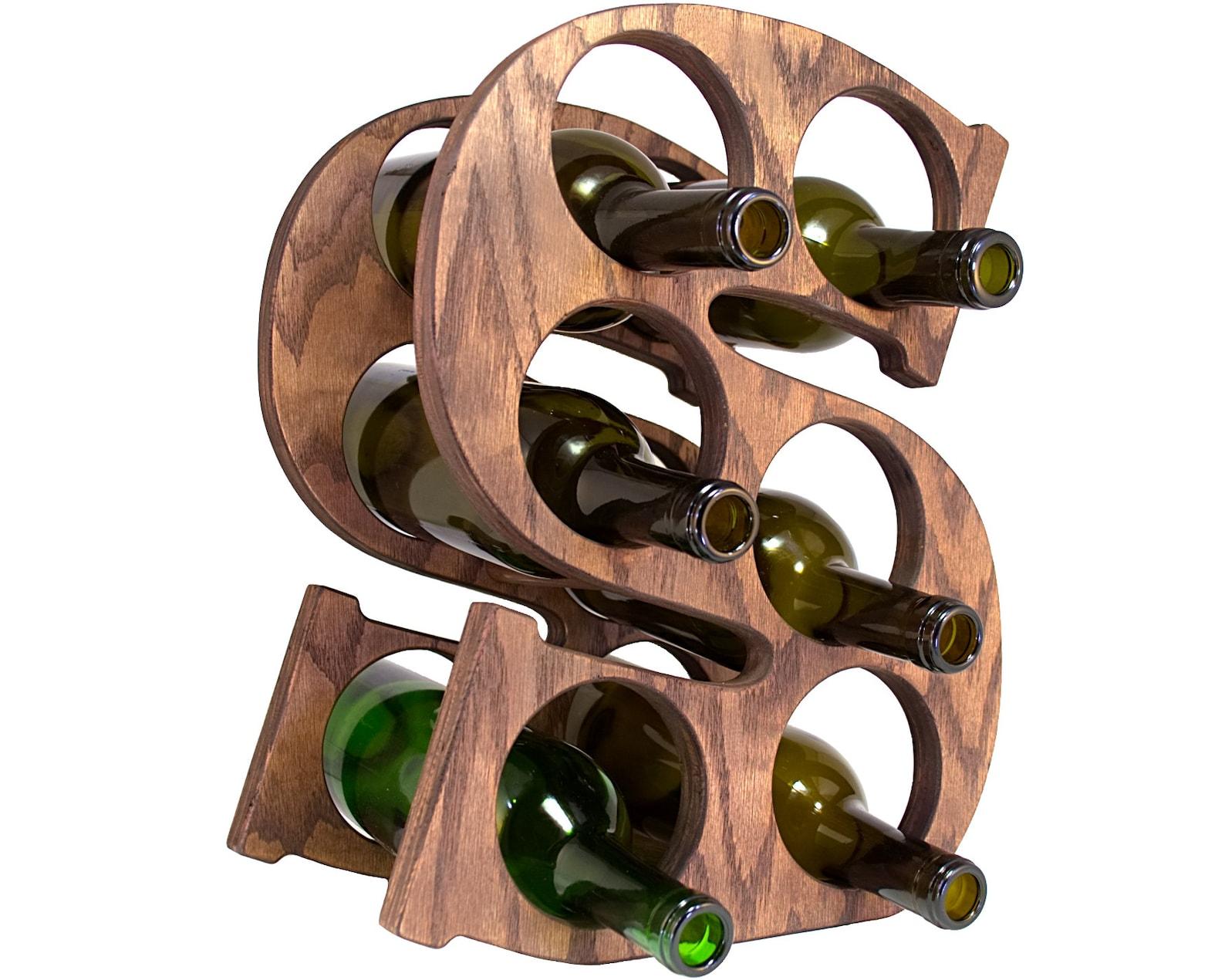 Letter S Wine Rack Right