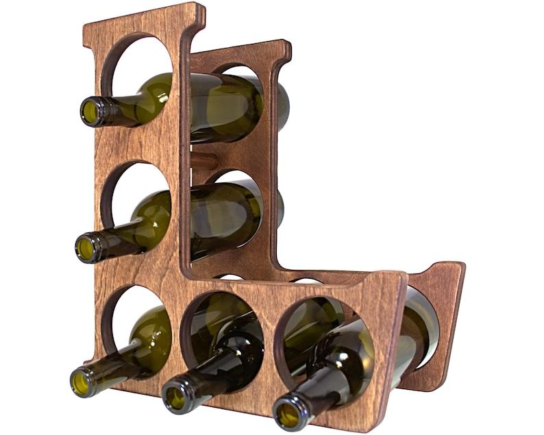 Letter L Wine Rack Left