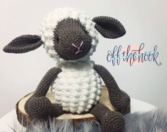 MADE TO ORDER - Sydney the Sheep - handmade crochet