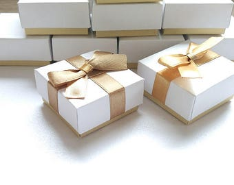 9a3cebcae White Boxes, Set 5, 10, 50 boxes, jewelry packaging, wedding favor boxes,  gift box, jewerly packaging , gift box wedding, small boxes, favor
