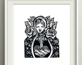 Guadalupe Poster Etsy
