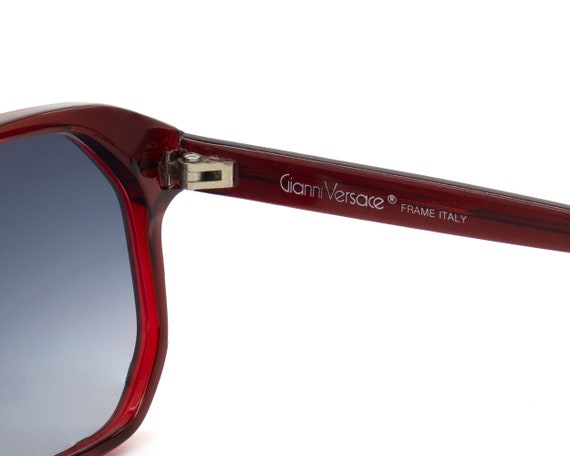 Gianni Versace vintage sunglasses large square, I… - image 5
