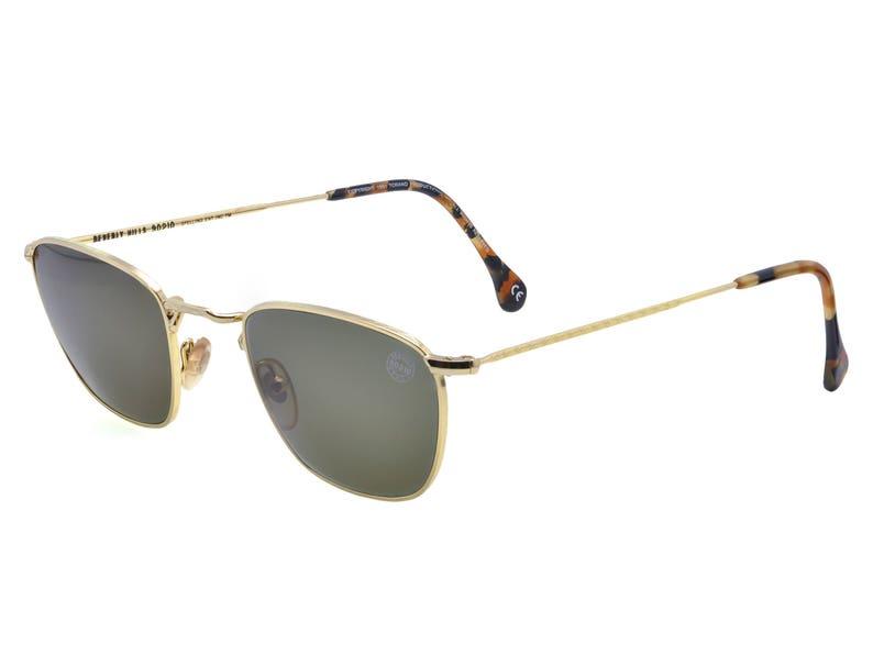 fa7f19102420 90210 Steve Vintage Sunglasses 90s made in USA. Gold vintage | Etsy