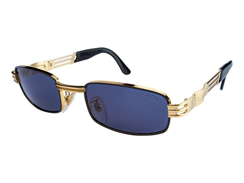 9d220bf6609 Lozza Vintage Sunglasses 80s made in Italy. SALE Gold
