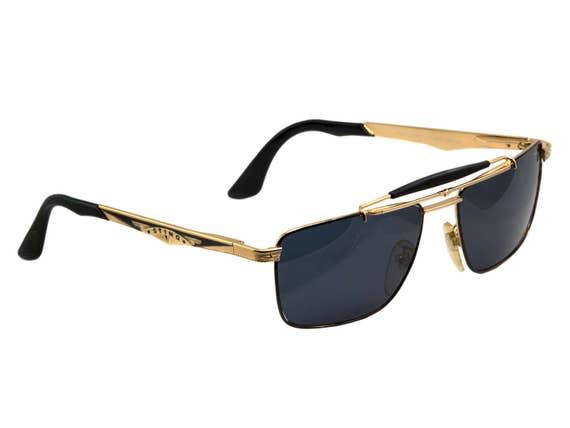 52e9bb1771 Sting Vintage aviador gafas de sol 80s hecho en Italia. | Etsy