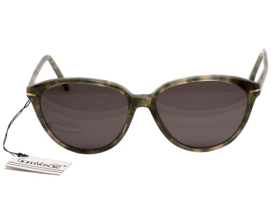 856ca84b948 Versace sunglasses made in Italy in the 80s. Vintage cat eye