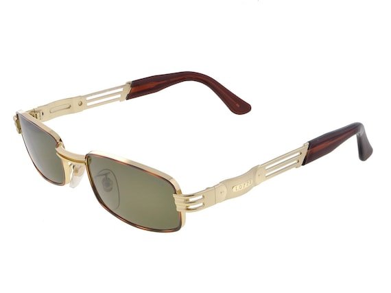 0f946274eac Lozza Vintage Sunglasses 80s made in Italy. SALE Gold