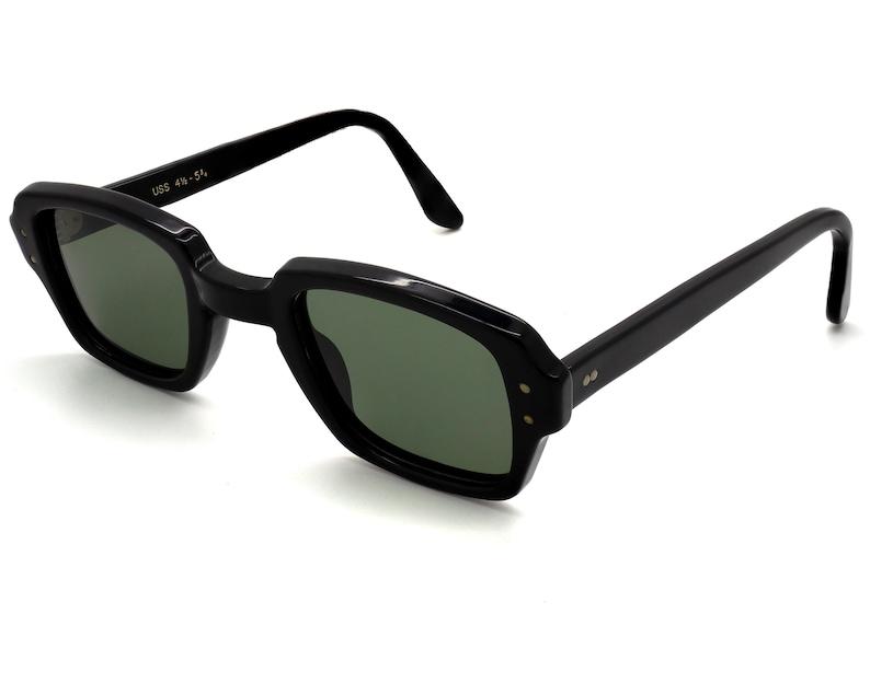 U.S. Military 60s Sunglasses made in USA. Original Vintage G15 (Green) Lenses