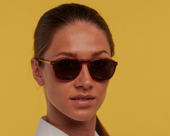 Gianni Versace sunglasses 80s, made in Italy. Vin… - image 7