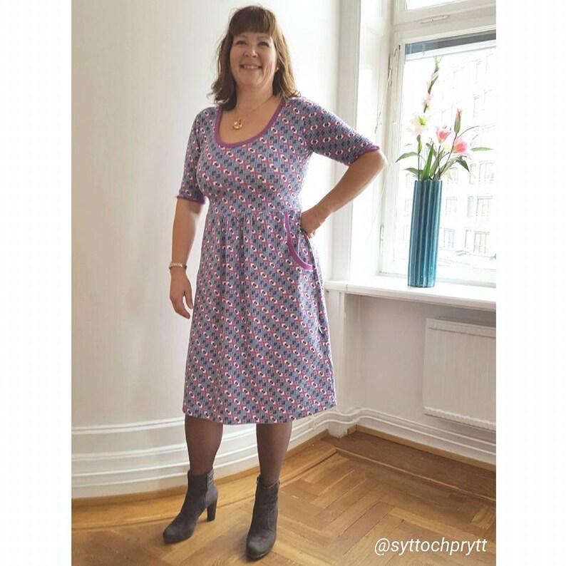 85f1c13d ZEBRAKLÄNNING Zebra Dress XS-XL pdf-mönster pdf-pattern | Etsy