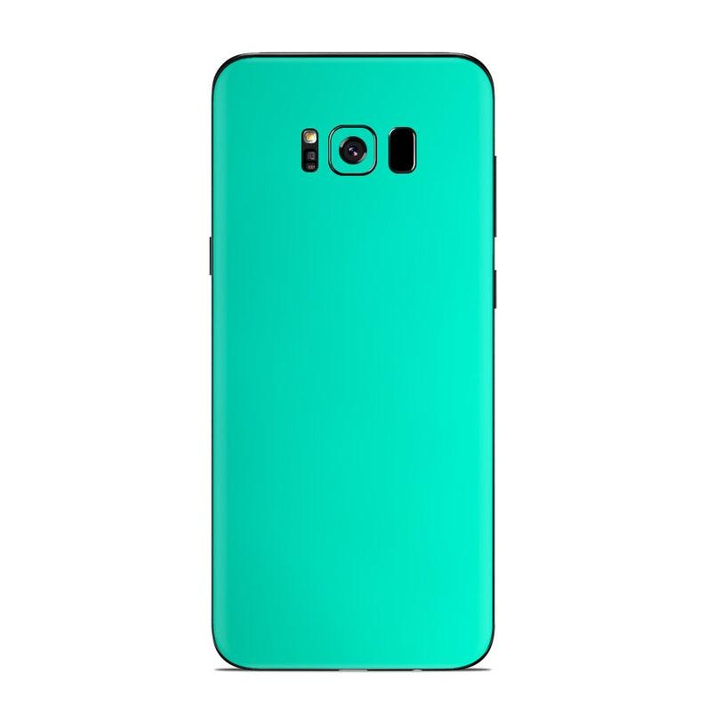 S8 S9 Plus Note 8 Note 7 Note 9 S7 J8 S8 Plus A7 A9 S6 Edge S7 Edge Galaxy S9 Matte Chrome Green Azure Skin for SAMSUNG Phones