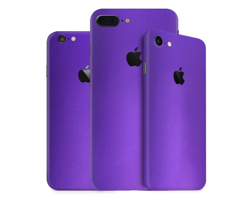 Metallic Purple iPhone Skin Purple Matt Chrome Skin Wrap  80c363af1a