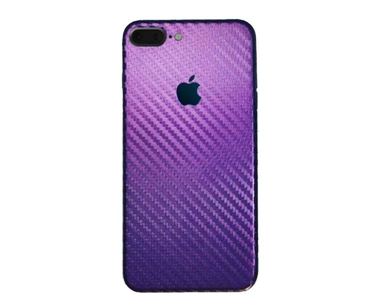 ef34a5b63ea Color Changing Chameleon Carbon Fiber iPhone Skin Purple | Etsy