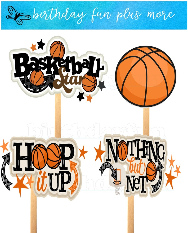 graphic relating to Printable Basketball Pictures titled basketball centerpieces PRINTABLE, immediate obtain basketball decorations, basketball topic Do-it-yourself birthday, basketball celebration decorations