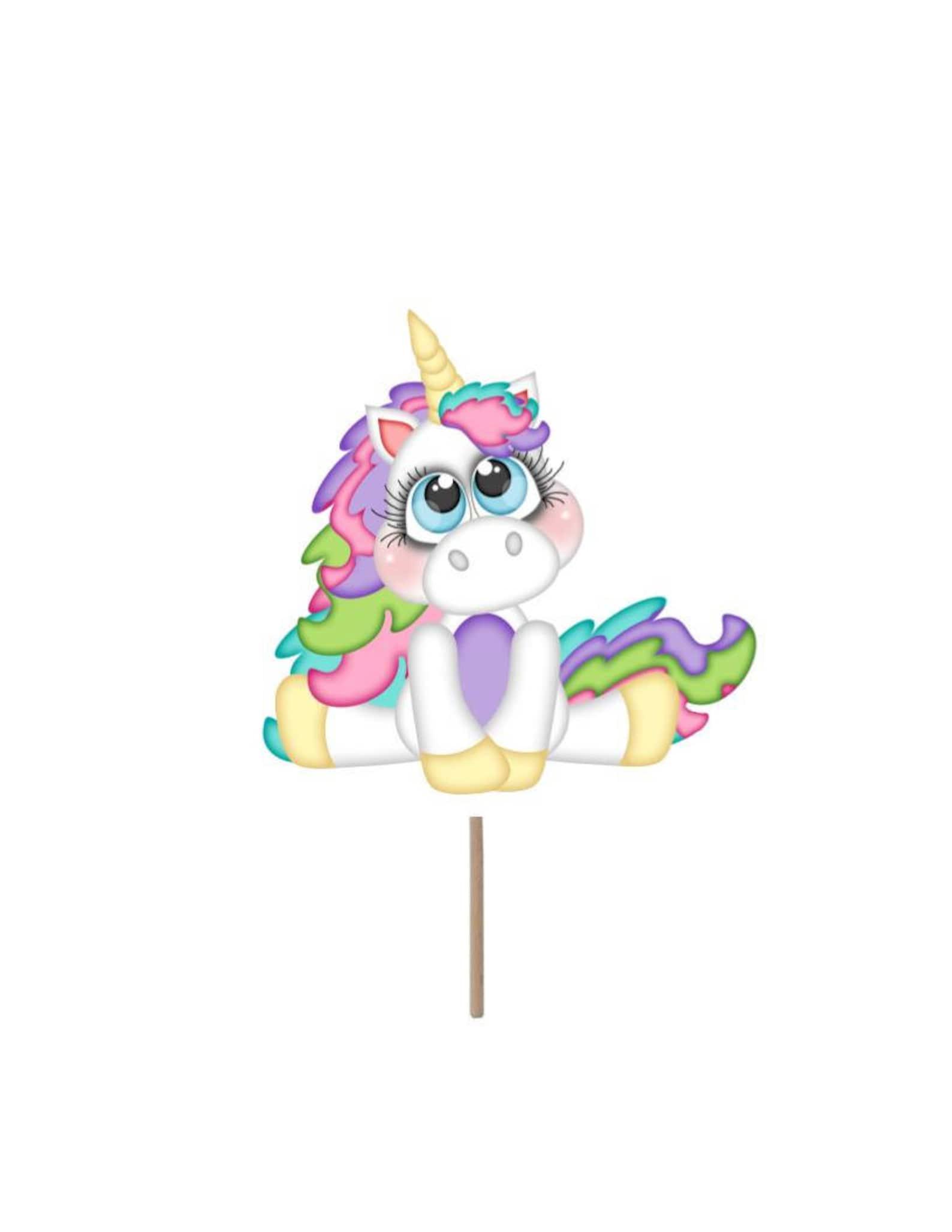 Unicorn Cupcake Picks Page Six
