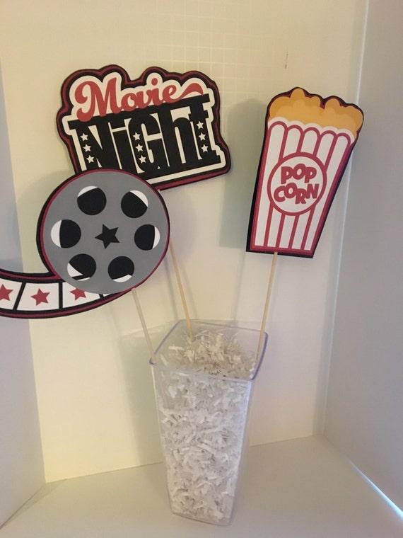 Movie Birthday Party Decorations Night