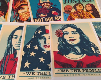 We The People poster (10pc)  art print HISTORIC posters