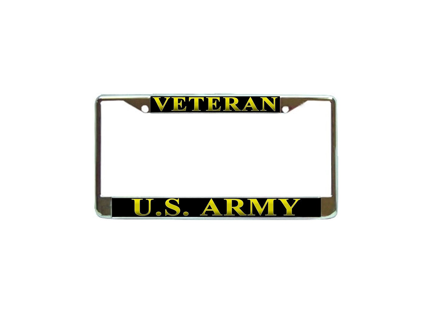US Army Rangers Veteran License Plate Frame military Car Tag Holder