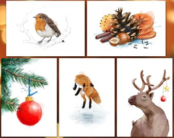 Christmas Card Mix