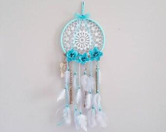 Boho Crochet Dreamcatcher- Handmade Size Large