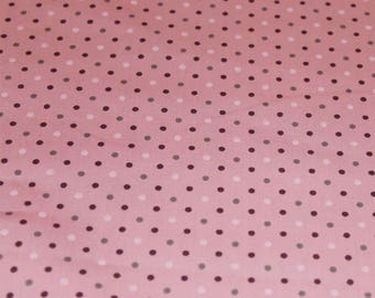 Pink Polka Dot Cotton