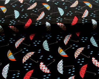 Rainy Days Cotton Print Fabric