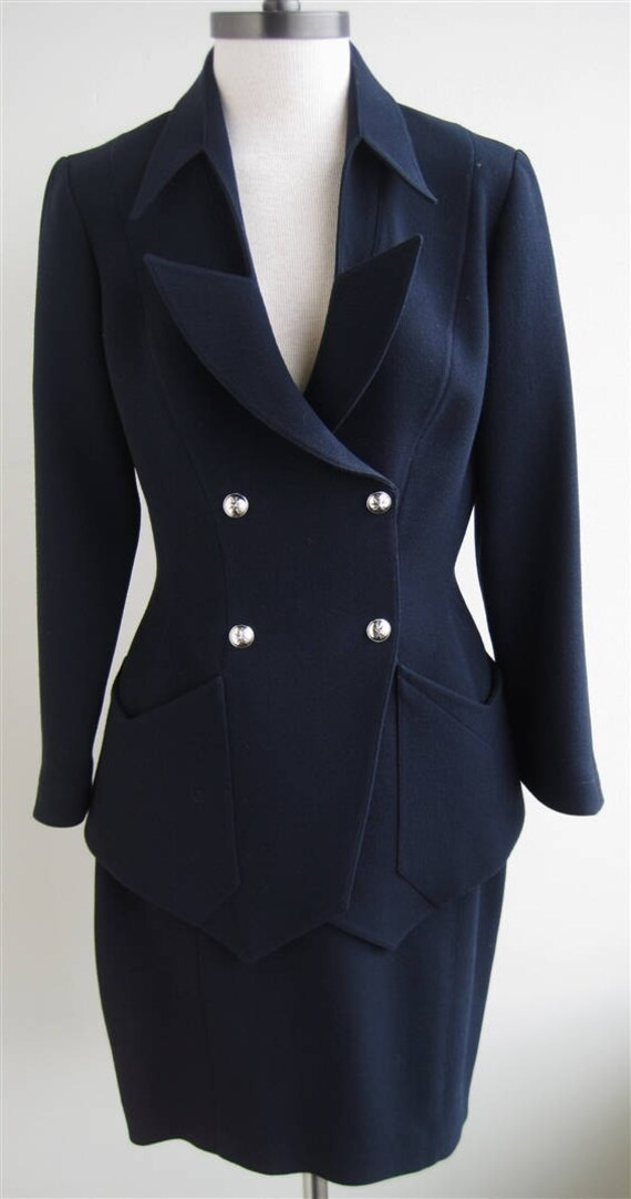 Vintage Thierry Mugler Skirt Suit