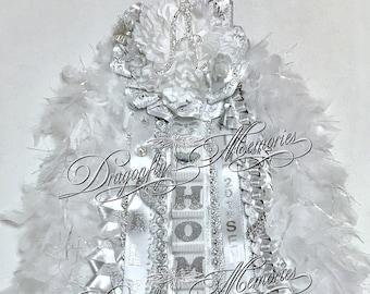 Christmas Homecoming Mum.Senior Homecoming Mum Etsy