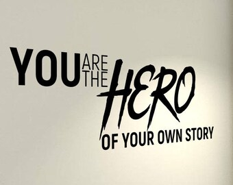 Hero Your Own Story Etsy