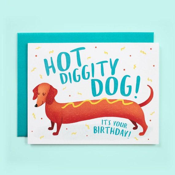 Funny Birthday Card Dog Friend