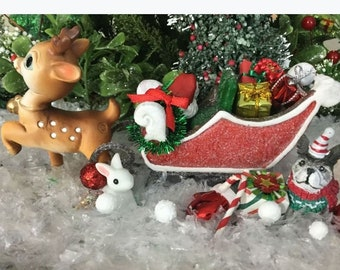 Spielzeug Schaukelpferd Soldat Trommel Weihnachten Puppenstube Miniatur 1:12