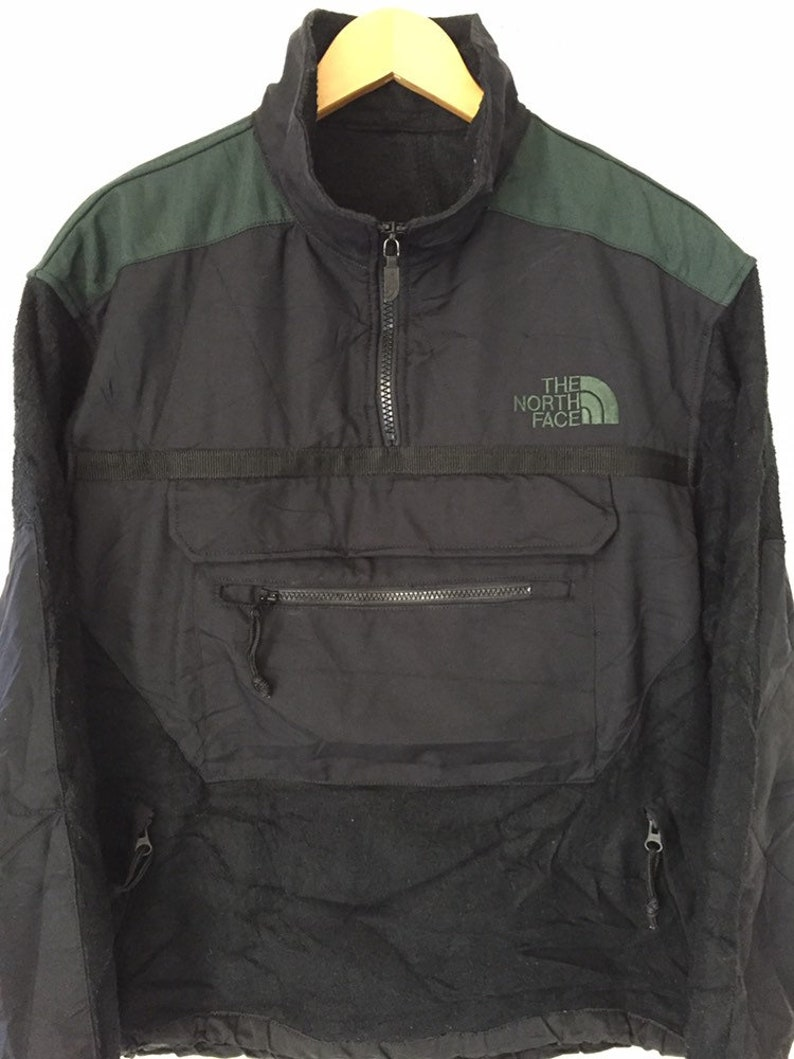 0caf84b33 90s The North Fleece Two Tone Jacket
