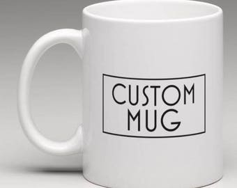 JUMBO custom mug (20z)