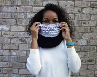 READY TO SHIP: Multi Marble Cowl