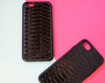 case for iPhone X 8 / 8+ 7/7+  6/6+ python iguana apple