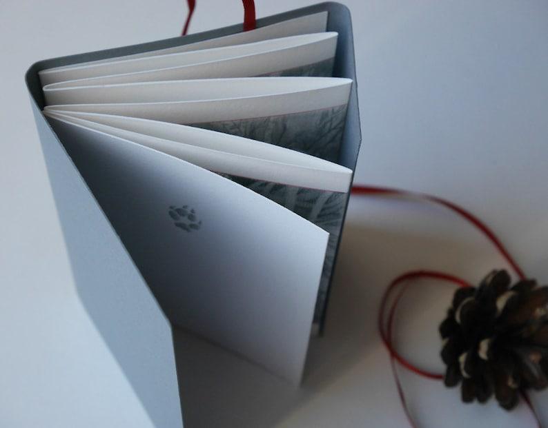 Fox  Silent Story  Concertina artist book image 0