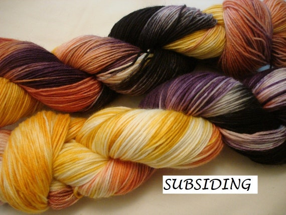 AG2N Speckled Colorway Sprinkles Hand Dyed Yarn Retro A Guy Two Needles Variegated