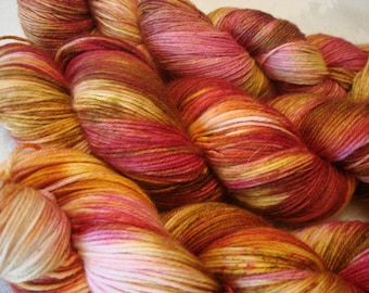READY TO SHIP, Variegated. Sprinkles, Hand Dyed, Color - Carefree**