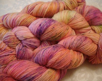 READY TO SHIP, Variegated, Sprinkles. Hand Dyed, Color - Dreamland**