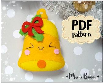 mrs claus pattern christmas ornaments felt pattern christmas etsy
