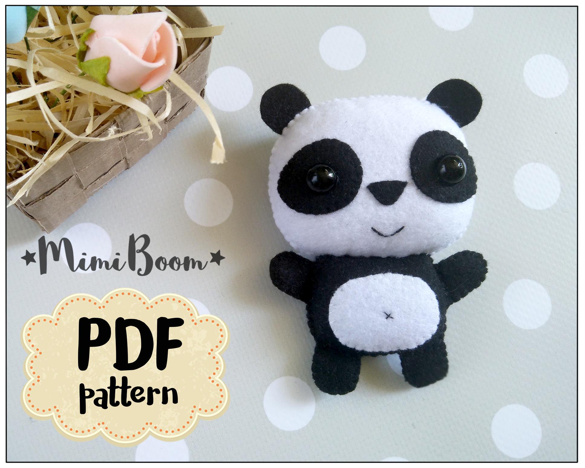 Buy Plush Panda pattern pictures trends
