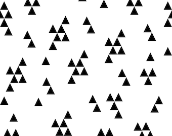 pizza fabric by andrea lauren cotton polyester jersey etsy Cotton Fabric triangle fabric by andrea lauren cotton polyester jersey canvas digital printed