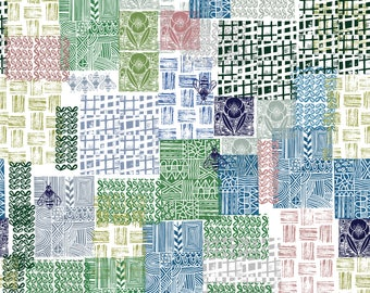 Bohemian patchwork by RuthRobson