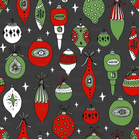 100/% Cotton Fabric Festive Forest Reindeers Christmas Trees 135cm Wide